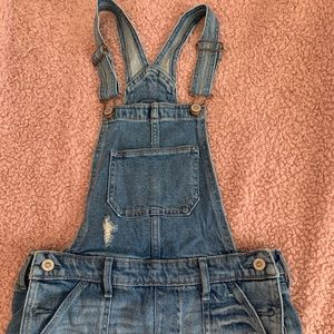 Hollister Short Overalls
